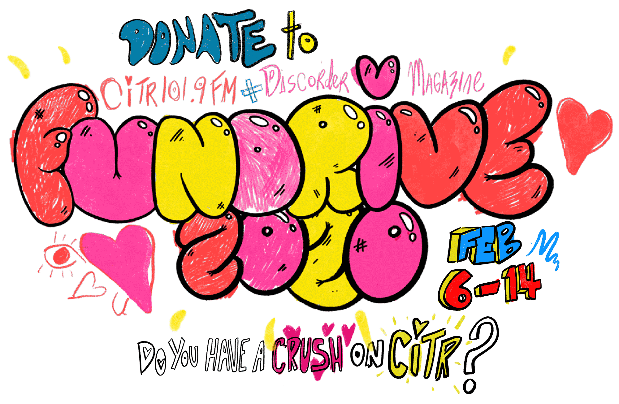Fundrive 2020! Do you have a crush on CiTR?